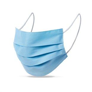 Višekratna pamučna maska za lice - plava