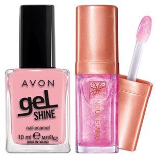 Trendi pink set od dva proizvoda za Tebe